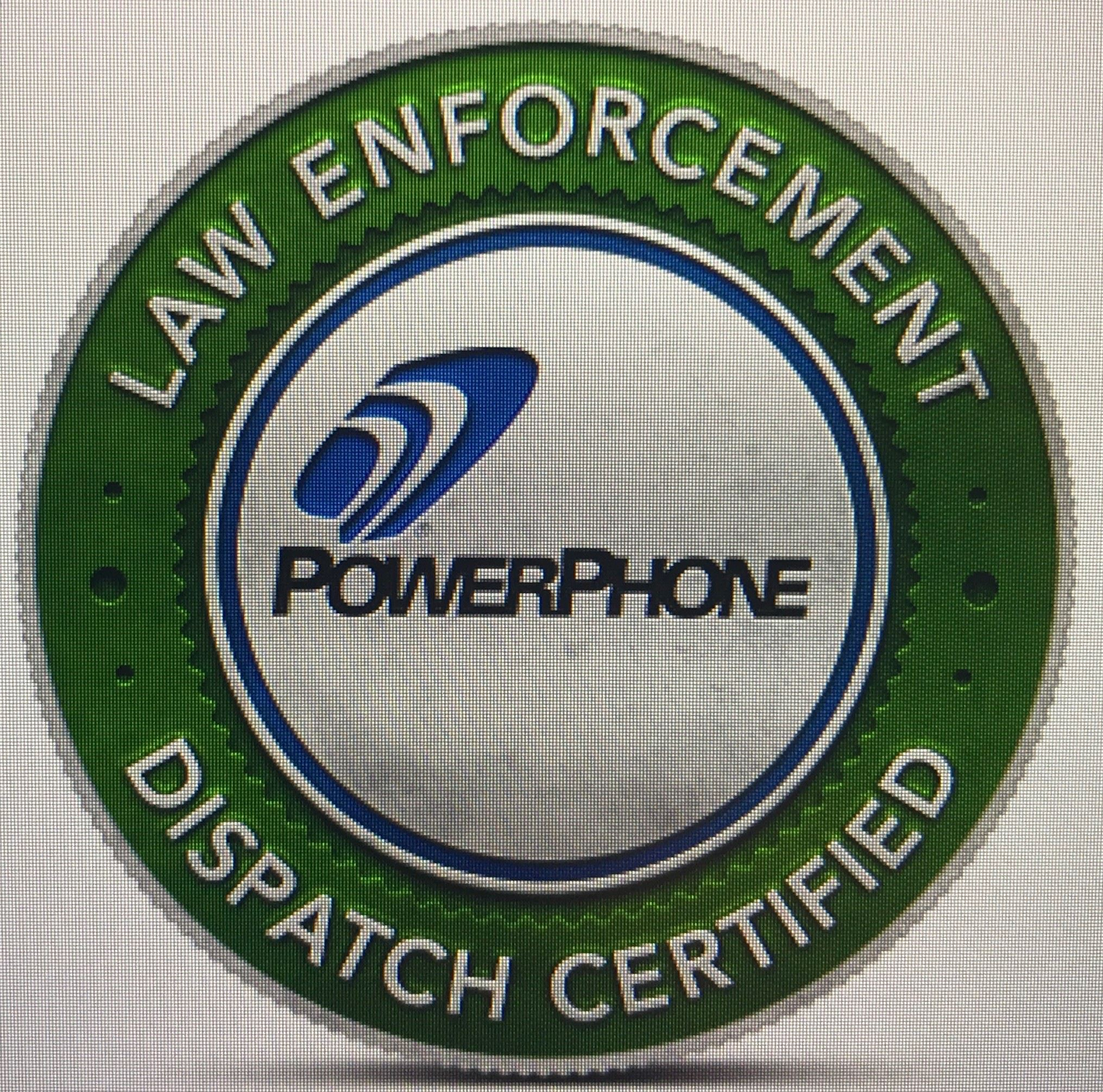Law Enforcement Dispatch Badge