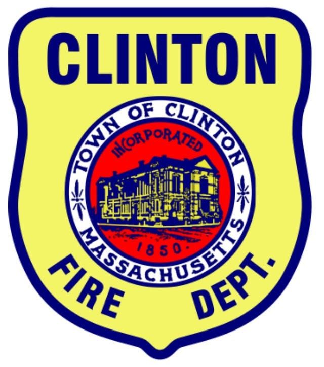 Clinton Fire Department Patch