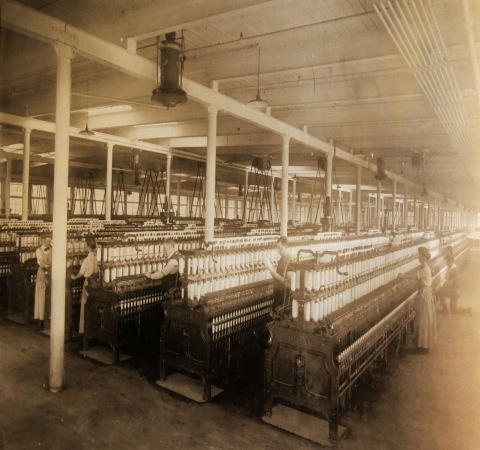 Lancaster Spinning Mill Workers