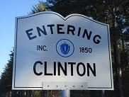 Entering Clinton Sign