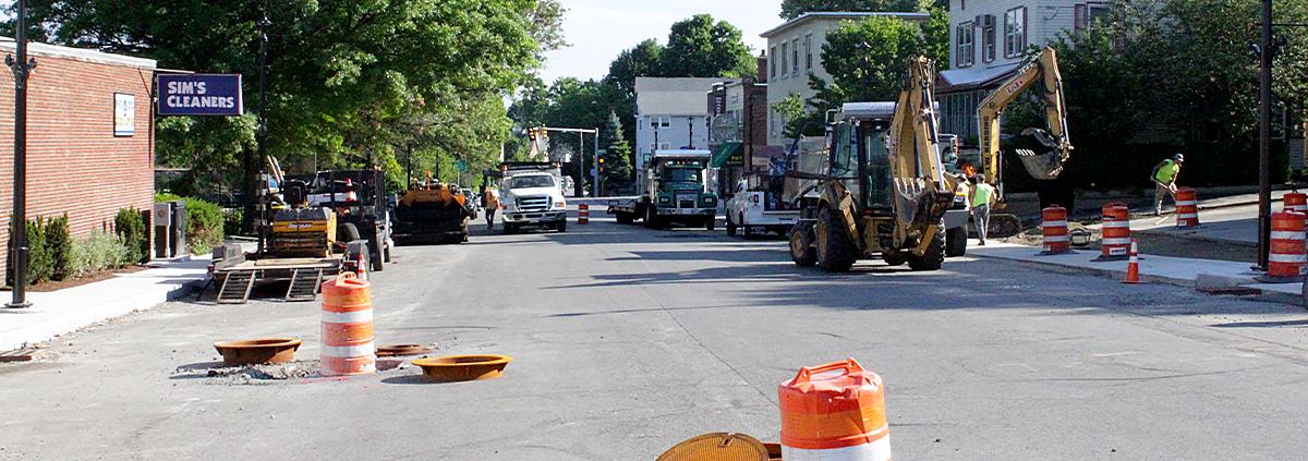 Week 28: High Street Construction